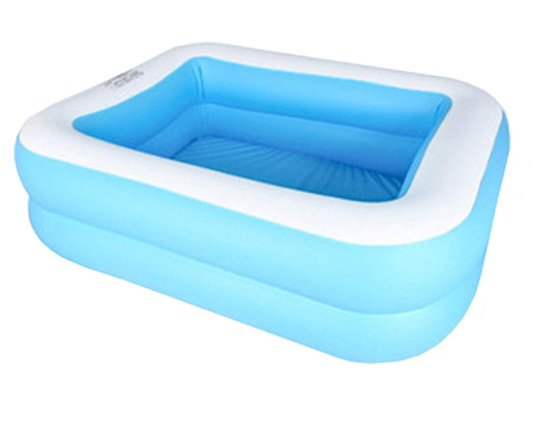 Amazon Com Wusan Swimming Pool Small Thickened Above Ground Family Interaction Summer Inflatable Pool For Baby Kids And Adults Garden Backyard Outdoor Garden Outdoor