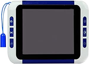Nhlzj Lupa/Auxílio à visão, Lente HD de 3,5 polegadas, Ampliação de 32x, Lupa Eletrônica Portátil de Baixa Visão, Jornal, ...