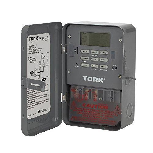 TORK SA300 40 Amp 120-Volt Single-Pole Zip Set Industrial Timer