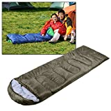A/M Isomatte JRC Camping Warm Rechteck Schlafsack (Armee-Grün) Aufblasbare Camping Isomatte (Color : Army Green)
