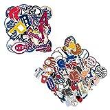 80 Pcs MLB Baseball Stickers,30 MLB Team Logo Stickers+50 Baseball Stickers,Sports Stickers,Hydroflask Bottles Waterproof Vinyl Stickers(Baseball)
