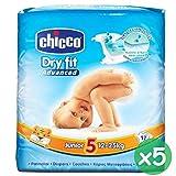 5 X Pannolini neonato Chicco Veste Asciutto Misura 4 taglia Maxi bambini quarta