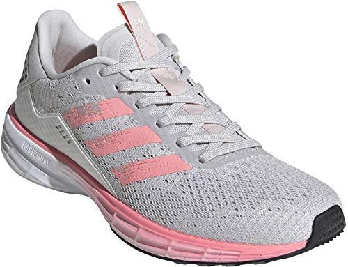 adidas SL20 Summer.RDY Zapatillas de running para mujer, Gris (Gris/Luz Flash Rojo/Blanco), 41 EU
