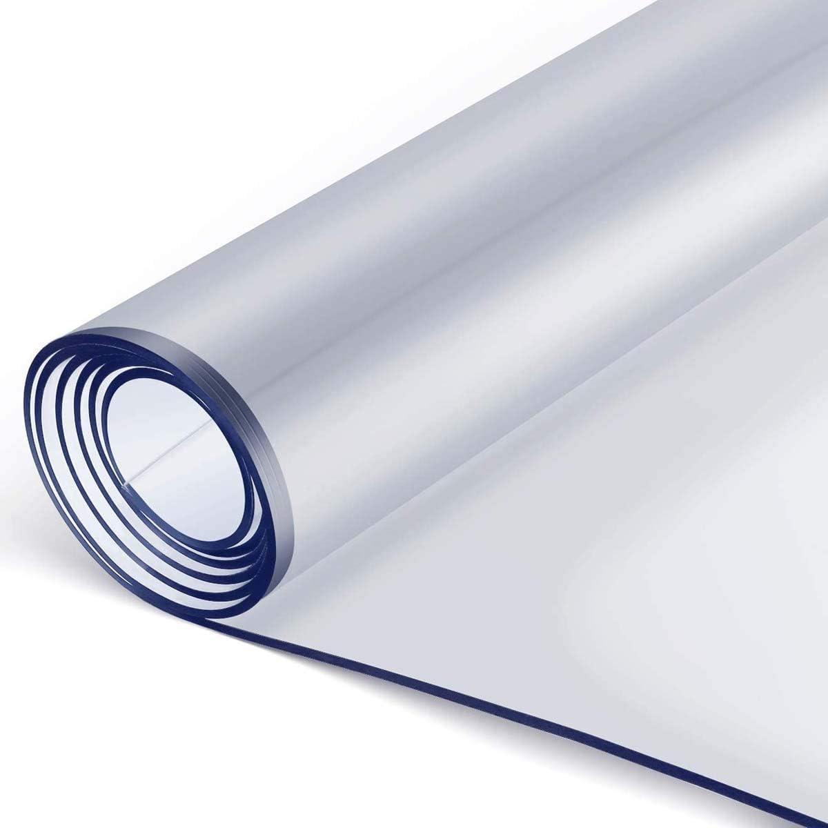 XIGG Clear Plastic Transparent Clea Over item Fresno Mall handling Custom Protector Tablecloth