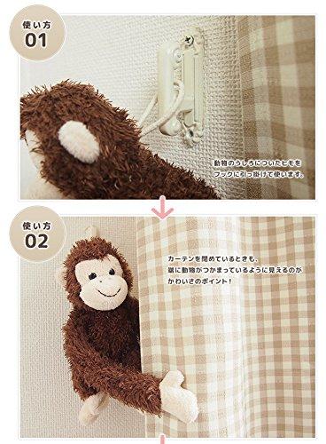 カーテンタッセル・アニマルご利用サイズ:35cm(円周)(ミミ(うさぎ))