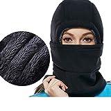 Thick Adjustable Fleece Balaclava Winter Windproof Ski Face Mask for Men/Women/Kids,Cold Weather Fleece