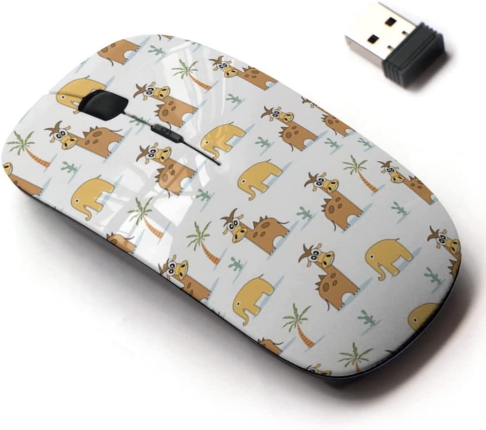 2.4G Wireless Mouse with Cute Direct store Pattern for All Soldering Design and Laptops