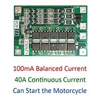 3S 40A 12.6V Lithium Li-ion Battery Charger Protection PCB BMS Board with Balance For Drill Motorcycle 12.6V Lipo Cell Module