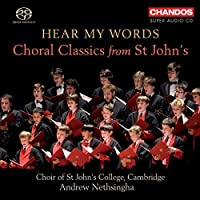 Hear My Words: Choral Classics From St Johns by GUSTAV HOLST (2010-11-16)