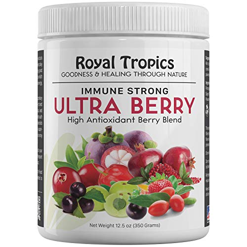 Ultra Berry a Proprietary Blend antioxidant with Acai Acerola Maqui Mangosteen. Potent compounds resveratrol, carotenoids xanthones flavonoids. Super-Concentrated Whole Food.
