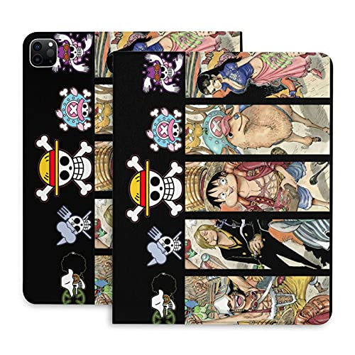 One Piece Anime ipad 2020 pro case Smart Stand Protective Cover Case ipad pro 2020-11inch