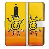 DeinDesign Étui Compatible avec Nokia 5 Étui Folio Étui magnétique Naruto Shippuden Produit sous...