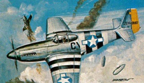 Revell Micro Wings P-51B Mustang Kit de modélisme en Plastique