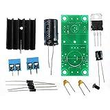 ILS – Kit de tarjeta PCB de potencia filtro rectificador tarjeta filtro raddrizador potencia individual Set completo de piezas 12 V