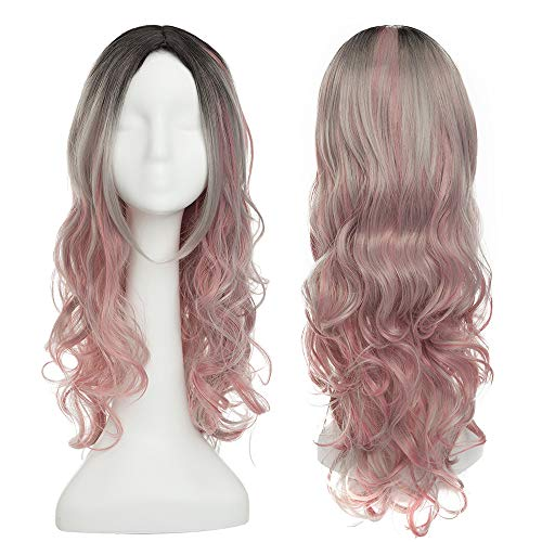 SEGO® Perruque Cosplay Femme Perruque Longue Synthetique 26\