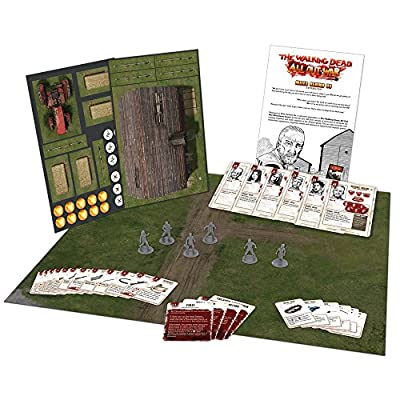 All Out War The Walking Dead Miles Behind Us Expansion by Mantic Games