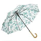 XHZ Regenschirm Dame Kleine Frische Retro Literarische Mode Britische High Density Impact Stoff Halbautomatische Einfache Stil Sonnig Und Regen Dual Use Kurbelschirm