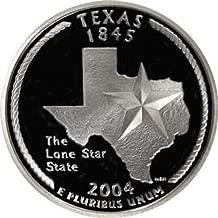 2004 Texas S Gem Proof State Quarter US Coin