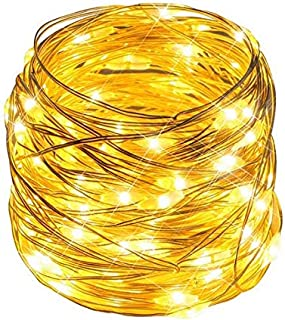 Craftersmark String Lights, 33ft 100 LEDs USB Powered Fairy Lights, 8 Lighting Modes Timer Waterproof for Christmas Thanksgiving Halloween Party Wedding Decoration (Remote Control Included)