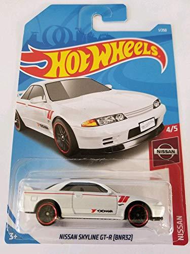 Hot Wheels 2019 Nissan 4/5 - Nissan Skyline GT-R [BNR32] - White