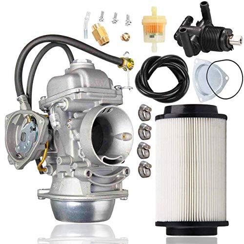 500 Carburetor +Valve Switch+7080595 Air filter for Polaris Sportsman 500 4X4 HO 2001-2005 2010-2012 Carb Scrambler 500 4x4 Trail Boss 325 Polaris Sportsman 500 Carb