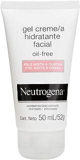 Gel Creme Hidratante Facial Oil Free Para Pele Mista a Oleosa, Neutrogena, 50Ml