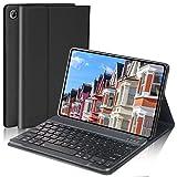 Keyboard Case for Samsung Galaxy Tab A7 2020, SENGBIRCH Wireless Bluetooth Detachable Keyboard QWERTY UK Layout with Protective Case for Samsung Galaxy Tab A7 10.4 inch (SM-T500/T505/T507), Black