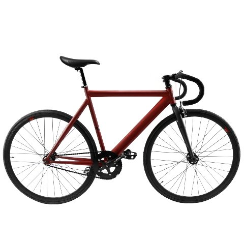Zycle Fix ZFPR-MARD-59 Prime Series Bike, 59cm/One Size, Matte Red