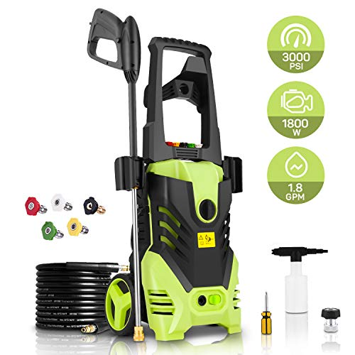 Homdox 2850 PSI Electric Pressure Washer,1800W Power Washer,High Pressure Washer Electric,Water...