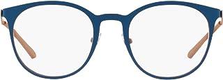 Men's An6113 Woot R Metal Round Prescription Eyeglass Frames