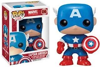 Funko Pop! Marvel Captain America Figure, Multi-Colour, FU2224