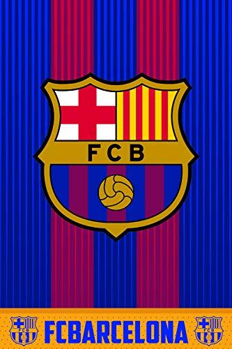 Scopri offerta per FCB FC Barcellona Coperta Polare, 100% Poliestere, blaugrana, 100x 150cm