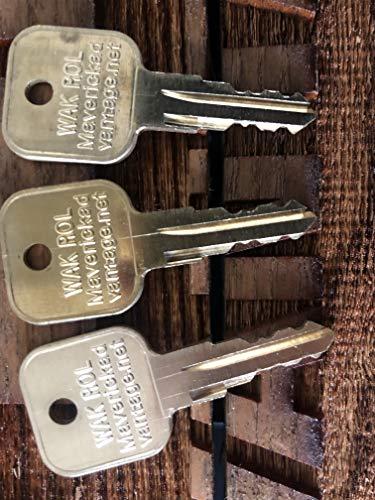 Keys for Wacker Neuson Roller Heavy Equp 160431, 6896,Landpride Zero Mwr160431 (3)