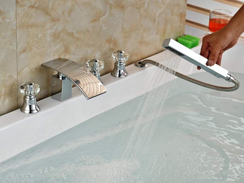 BGHDIDDDDD Bath Animer Challenge the lowest price and price revision Shower Systems Crysta Bathtub Faucet Taps