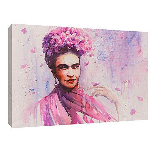 Cuadro Decorativo Acuarela Arte Canvas Frida Kahlo Impresión HD Decoración de Interiores Cuadros Modernos Para Casa Sala Comedor...