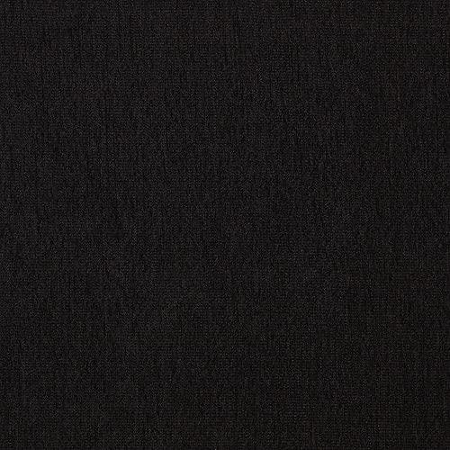 Kt KILOtela Tela de tapicería Lisa - Chenilla de Doble Cara - Tacto Suave Aterciopelado - Muy Resistente - Retal de 100 cm Largo x 280 cm Alto | Negro