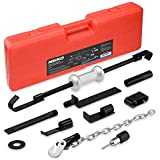 Neiko 02216 Dent Puller with 8 Pound Slide Hammer for Automotive Body Repair, 11 Piece Set for Auto and Truck Restoration