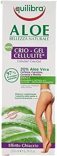 Equilibra Corpo, Aloe Crio-Gel Cellulite, Gel Fresco a Base di Aloe Vera, Favorisce la Circolazione Periferica, Contrasta ...