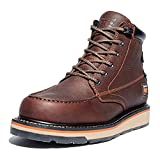 Timberland PRO Men's Gridworks Moc Soft Toe Waterproof Industrial Boot, Brown, 10.5 M US