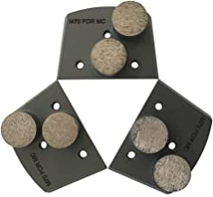 Trapazoidal Grinding Discs for Lavina and Edco Floor Grinders - #60/80 Grit Medium Bond Set of 3