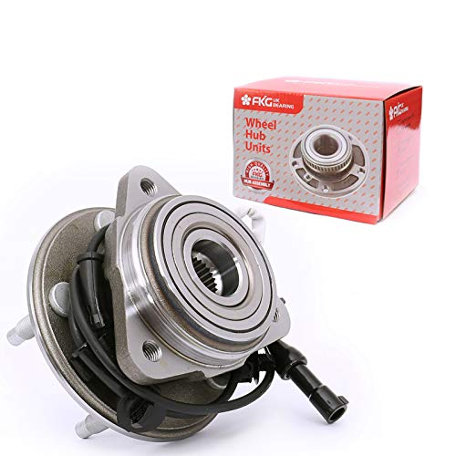 FKG 515003 (4WD, AWD ONLY) Front Wheel Bearing Hub Assembly for 95-01 Ford Explorer, 01-05 Ford Explorer Sport Trac, 01-09 Ford Ranger, 00-09 Mazda B4000