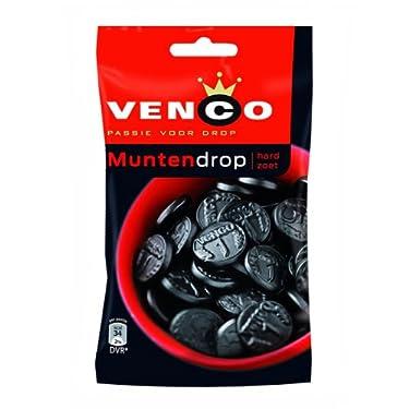 Venco passie Voor Drop muntendrop duro zoet (Coin Regaliz Sweet duro) 240gramo