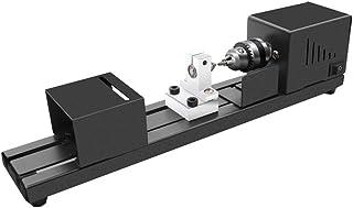 Mini Wood Lathe Machine, Multifunction Benchtop Lathes for Grinding Polishing and Cutting Mini Woodworking DIY Lathe with ...