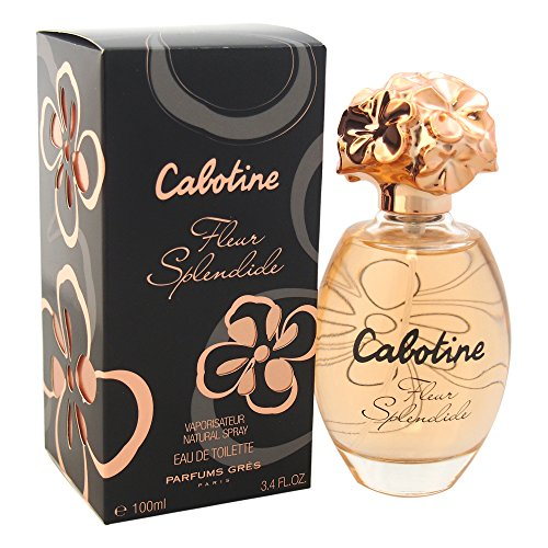 Parfums Gres Cabotine Fleur Splendide Eau de Toilette Spray, 3.4 Ounce