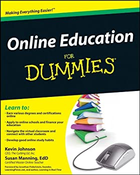 Paperback Online Education For Dummies Book