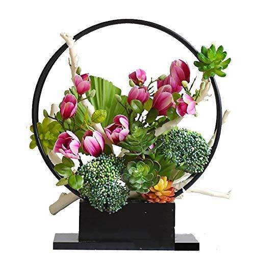 Huishoudelijke producten Nordic smeedijzeren bloempot set thuis bloem stand hotel woonkamer raamdecoratie Voor planten Weergeven Thuis Tuin Patio Hoek Buiten