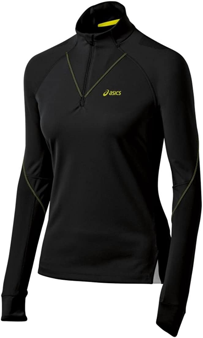 ASICS Women's Fujitrail Baltimore Mall Long Sleeve 1 Top unisex Zip 2