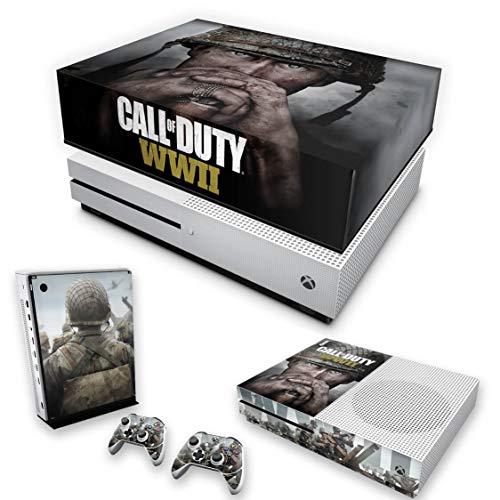 Capa Anti Poeira e Skin para Xbox One S Slim - Call Of Duty Ww2