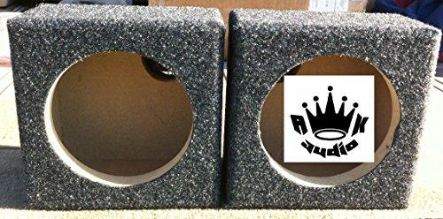 "6.5"" Speaker Box Enclosure 6 1/2"" Car Coaxial Speaker Box 5.125"" Hole cutout"