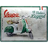 Nostalgic-Art Retro Blechschild, Vespa – Italian Legend